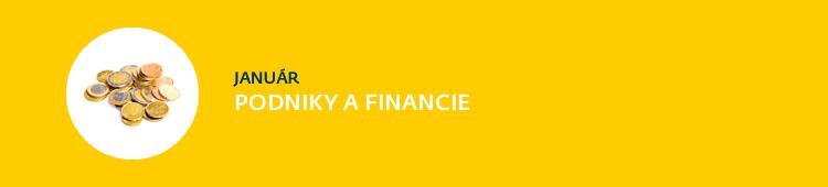 Podniky a financie